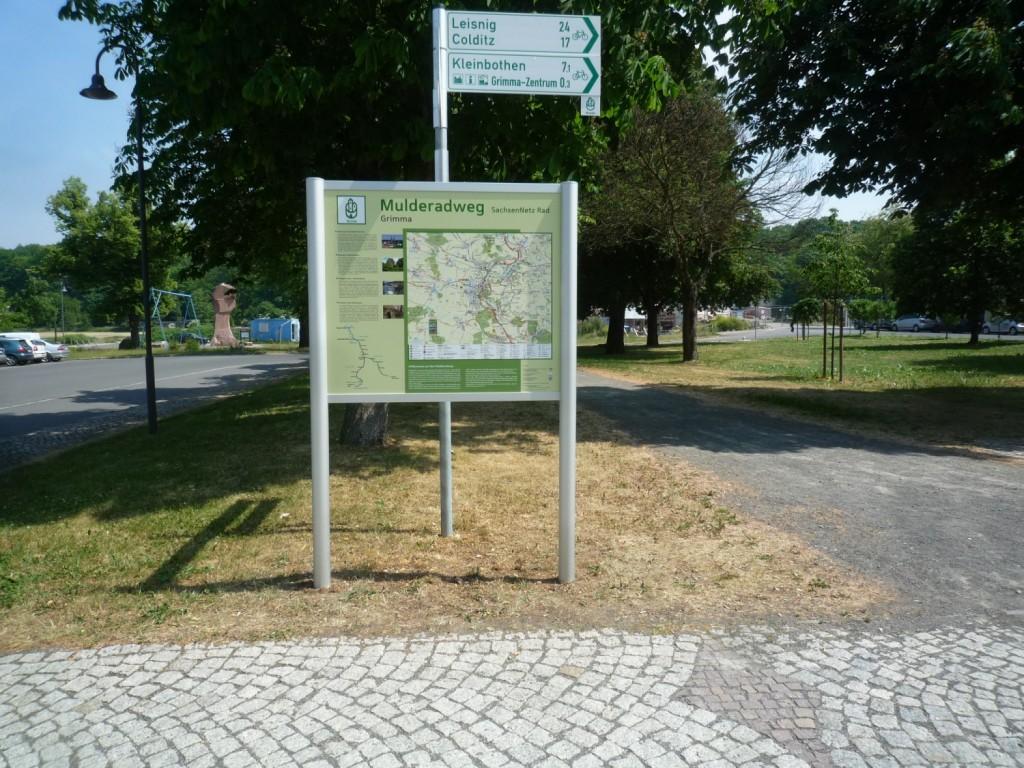 Mulderadweg_Schild