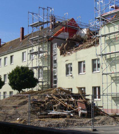Gasexplosion Ebertstraße Wurzen